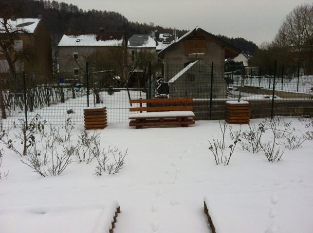 Gartenarbeiten im Dezember