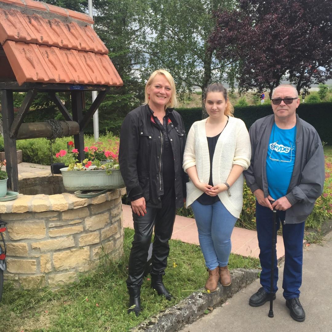 Gaart an Heem Hollerich Neuer Vorstand beim Gartenfest in Aktion